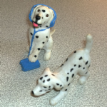 Dalmatian Dogs Vintage Puppy in my pocket dogs 90's MEG